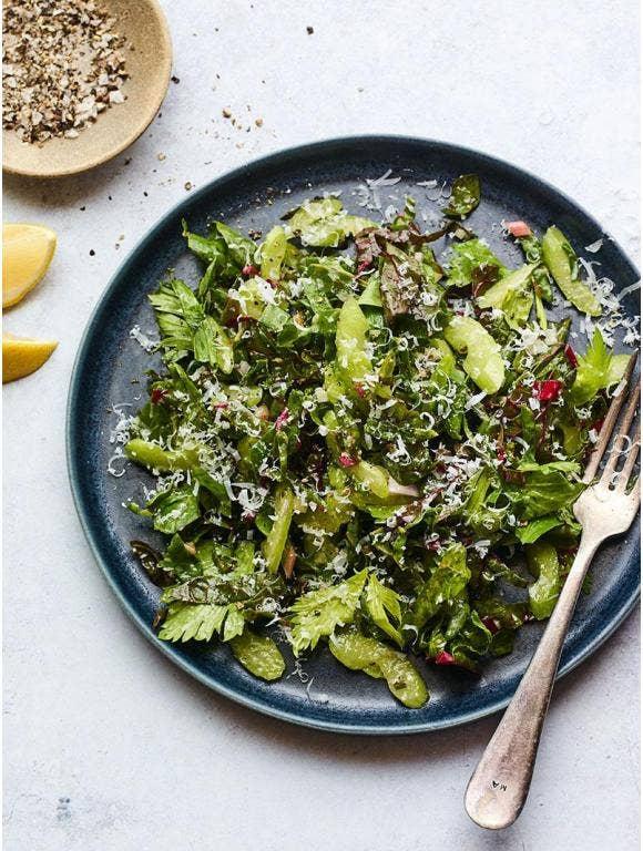 Swiss Chard & Celery Salad