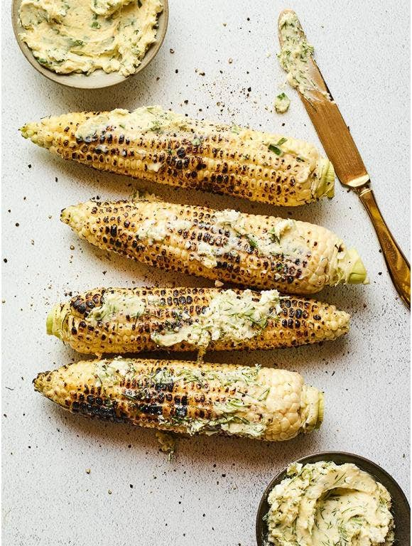Herb Buttered Corn