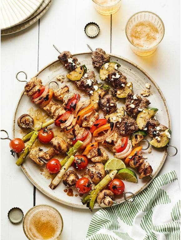 Create the Ultimate Grilled Kabob Bar