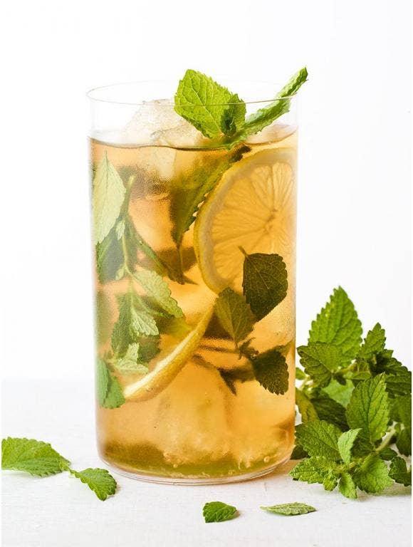 Lemon Balm Iced Tea