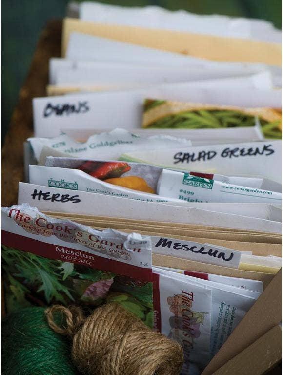 Saving Seed Packets
