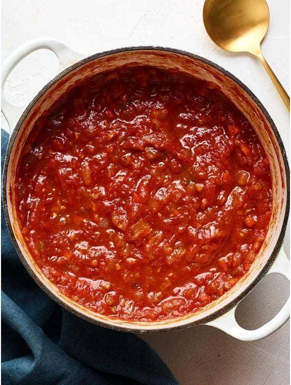 George's Secret Tomato Sauce