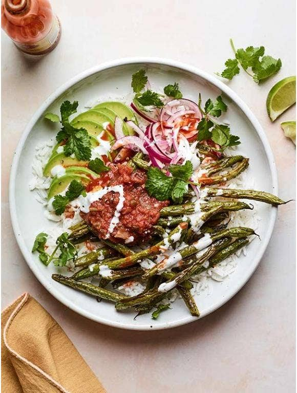Chili Roasted Green Beans