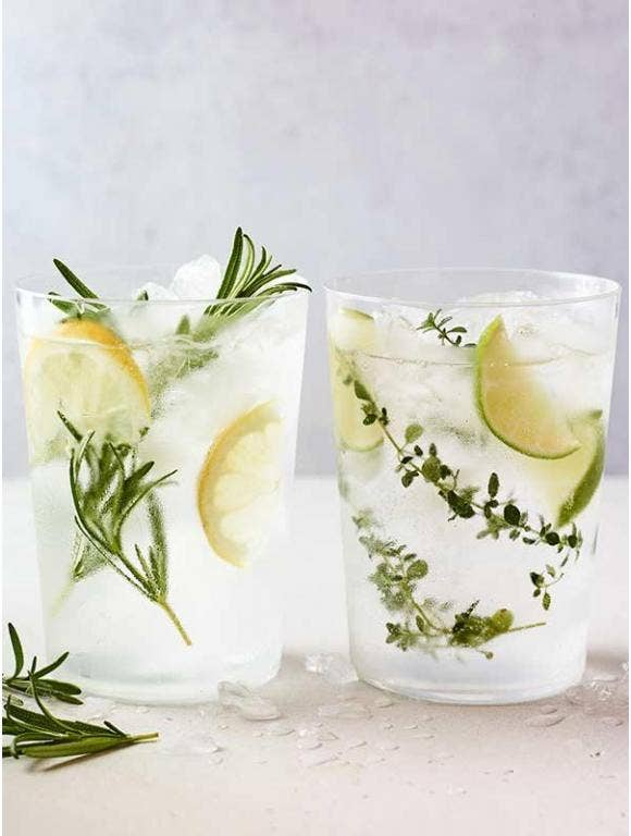 Gin & Tonic with Herbs