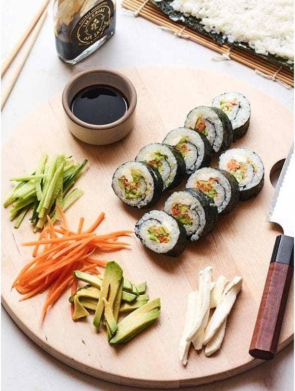 Vegetable Sushi Rolls