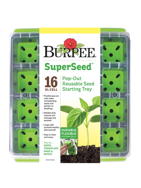 SuperSeed Seed Starting Tray, 16 XL Cell