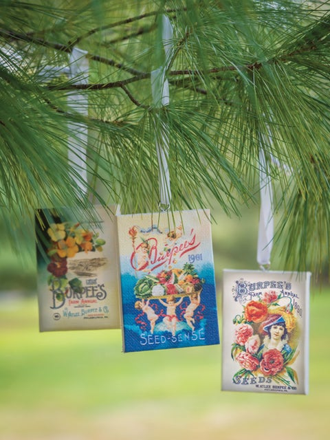 Heirloom Cover Ornaments