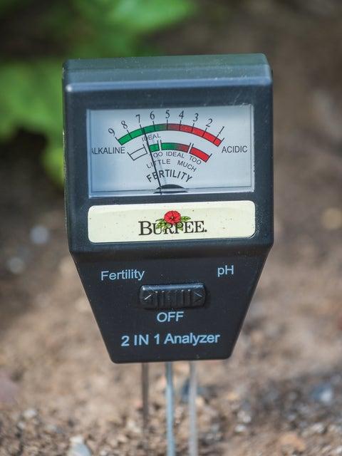 Electronic Soil Tester