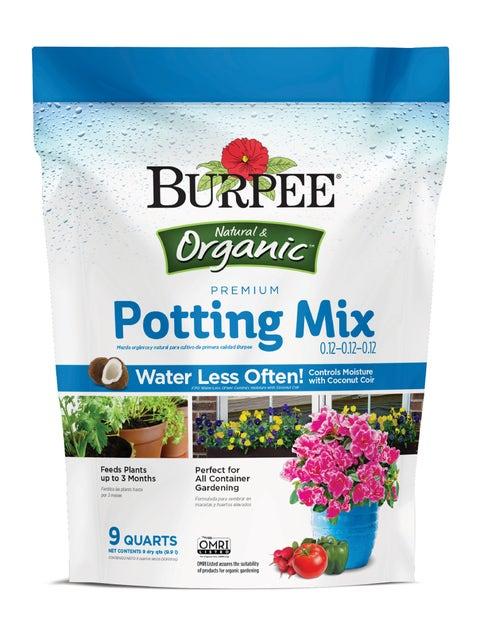 Premium Organic Potting Mix, 9 Quart
