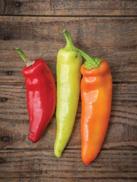 Pepper, Hot, Hungarian Wax