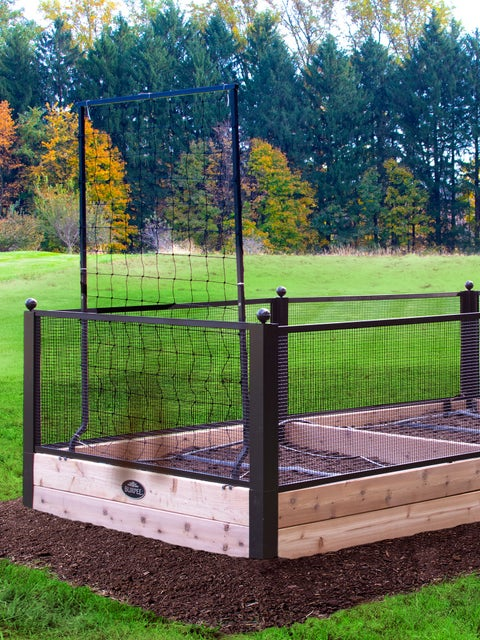 Complete and Deluxe Raised Bed Gardens