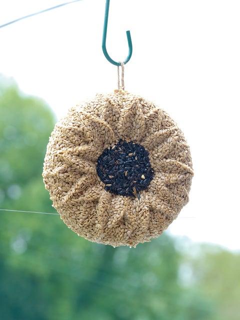 Wild Bird Seed Wreath, Sunflower