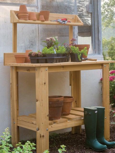 Premium Cedar Potting Table