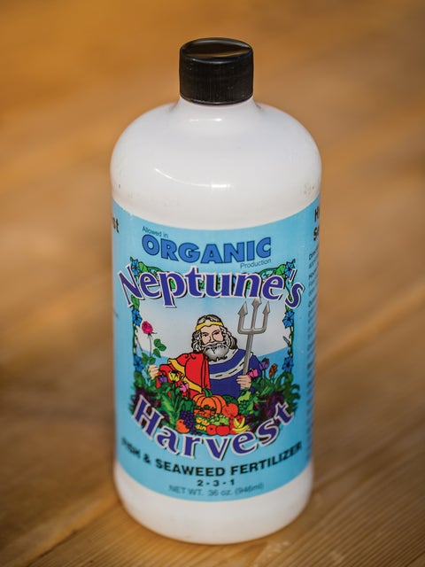 Neptunes Harvest Fish & Seaweed Fertilizer 2-3-1