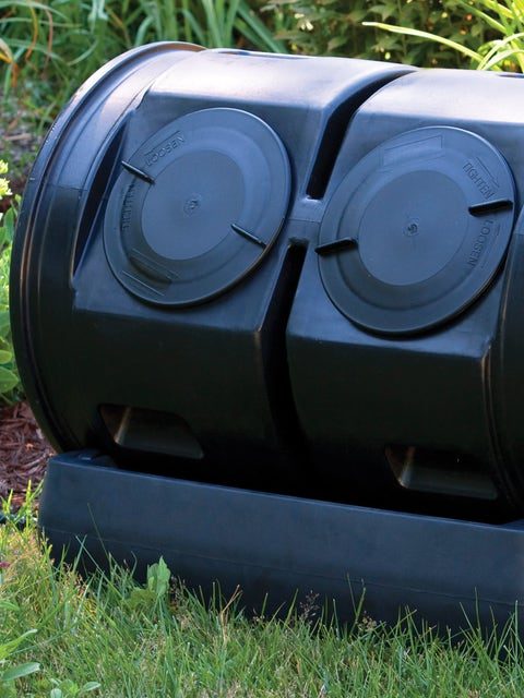 Compost Wizard Dual Tumbler