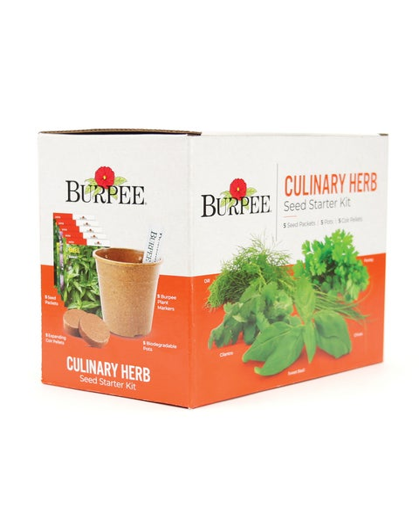 Burpee Culinary Herb Seed Starter Kit