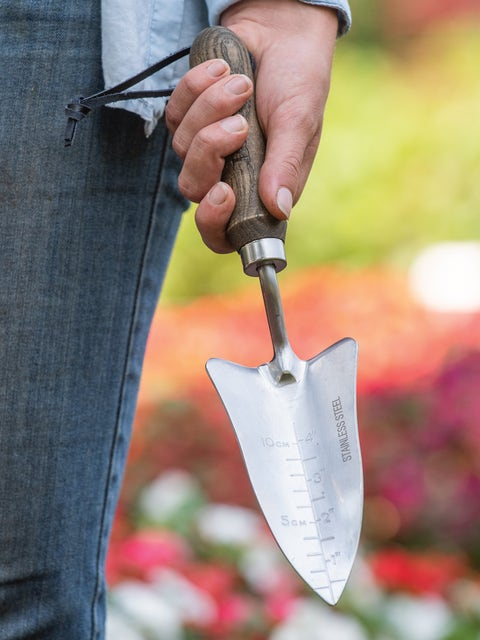 Garden Tools - Burpee Stainless Steel Transplanter