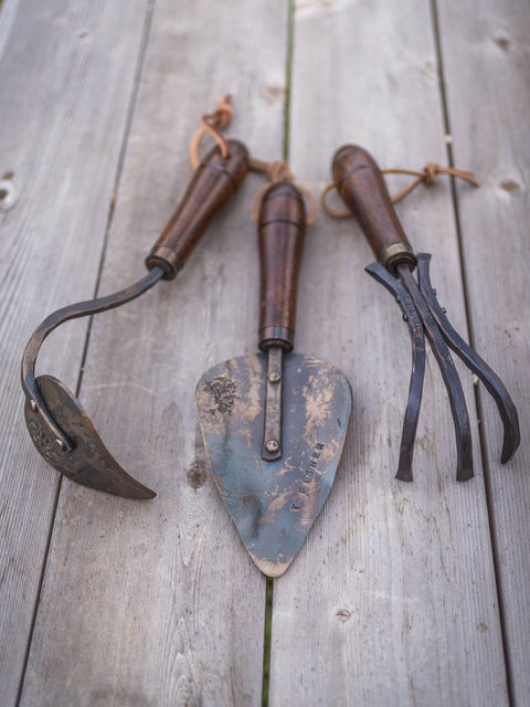 Unique Black Walnut Hand Forged Tools