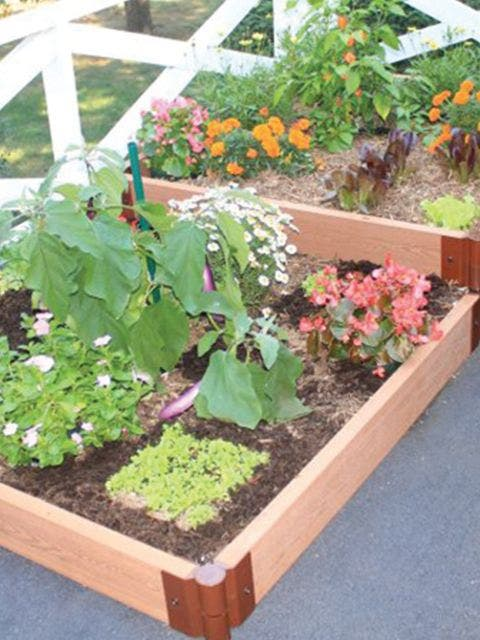 4x8 Complete Two Stepper Raised Bed