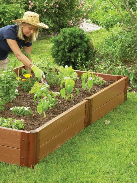 4x8 Complete Double Level Raised Bed