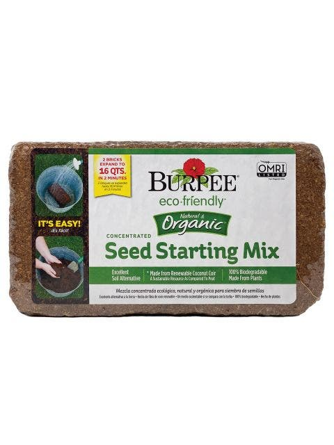 Organic Coconut Coir Concentrated Seed Starting Mix