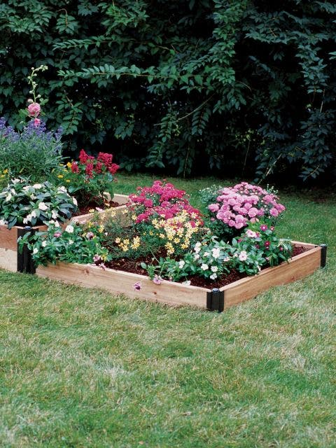 Two Stepper Complete Cedar Raised Bed