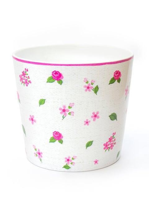 Mille Fleur Waterproof Ceramic Planter