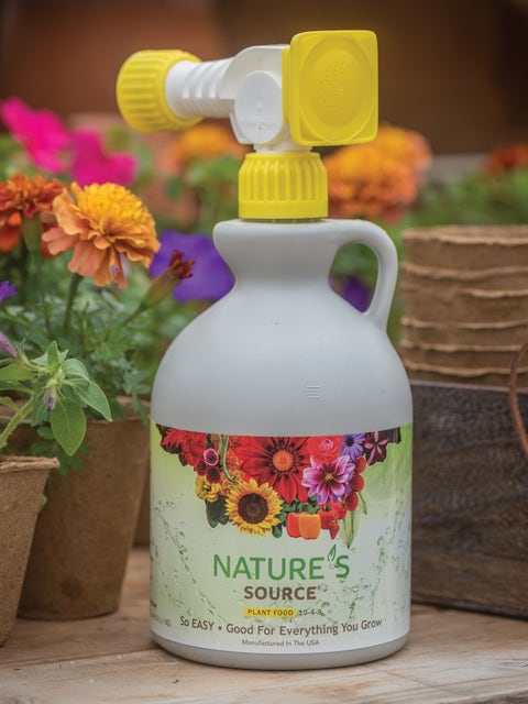Natures Source Plant Food 10-4-3