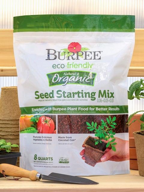 Burpee Eco Friendly 8 Qt Seed Starting Mix 0.06-0.03-0.03
